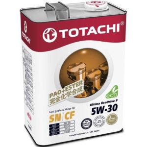 Моторное масло синтетика TOTACHI Ultima EcoDrive F SN/CF 5W-30 4л