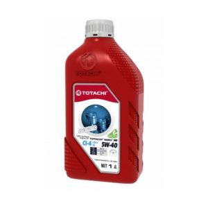 Моторное масло синтетика TOTACHI Niro HD API CI-4 SL 5W-40 1л пластиковая канистра