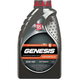 Моторное масло синтетика Лукойл GENESIS ARMORTECH 5W-40 1л