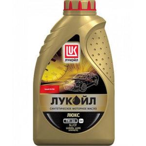 Моторное масло синтетика Лукойл Люкс SL/СF 5W-30 1л