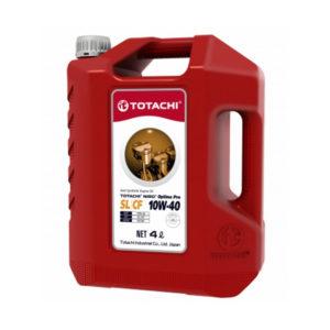 Моторное масло синтетика TOTACHI Niro HD API CI-4 SL 5W-40 4л пластиковая канистра