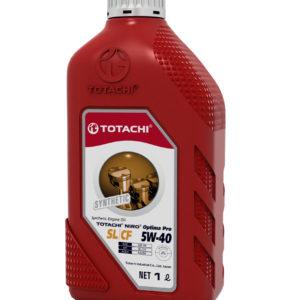 Моторное масло синтетика TOTACHI NIRO Optima PRO 5w-40  SL/CF 1л пластиковая канистра