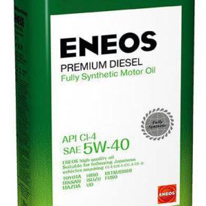 Масло моторное синтетическое ENEOS Premium Diesel CI-4 5W-40 1л