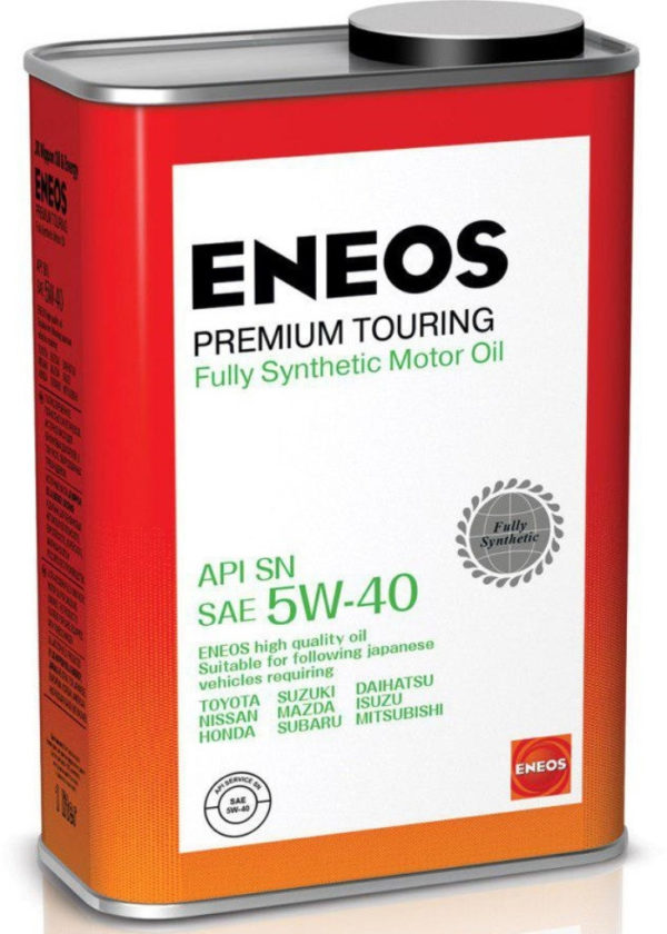 Масло моторное синтетическое ENEOS Premium Touring FULLY SN 5W-40 1л