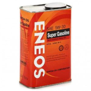 Масло моторное полусинтетика ENEOS SUPER GASOLINE SL 5W-30 1л