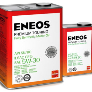 Масло моторное синтетическое ENEOS Premium Touring FULLY SN 5W-30 4л (акция 4+1)