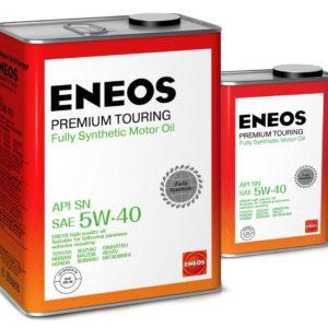 Масло моторное синтетическое ENEOS Premium Touring FULLY SN 5W-40 4л (акция 4+1)